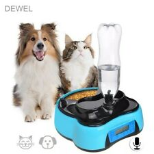 Automatic Pet Food Water Feeder With Voice