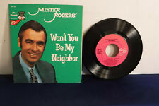 Mister Rogers, Won't You Be My Neighbor?, Pickwick Records MP 55, 1977, EP, Fred
