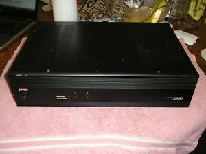 ADCOM GFA 5300 2 Channel Stereo Power Amplifier Missing Power Cord Untested