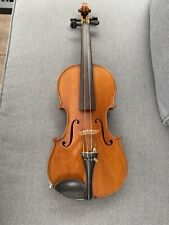 Schöne antike Geige Brandstempel mit Nummer