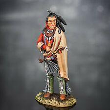 Zinnfigur. Pawnee Chef. In-5. 54mm.