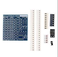SMT SMD Component Welding Practice Blue PCB Board Soldering Solder  Suite Kit Ek