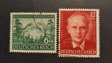 DEUTSCHLAND GERMANY CLASSICS 1943 MI.NR. 855-856 used