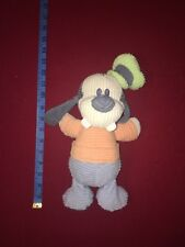 "Disney Store Goofy Plush Stuffed Ribbed Rib Doll Bean 8"""