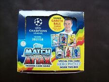 Box Of 41 Packs of Topps Match Attax EPL 2017/18 Trading Cards Hero Packet.