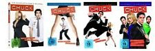 Chuck - Season/Staffel 1+2+3+4 * NEU OVP * DVD Set