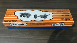 CRESCENT TOY  SALADIN ARMOURED PATROL SET BOXED
