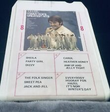 Tommy Roe's-12 in a Roe/ Greatest Hits- 8 Track Fast Shipping World Wide!!!!