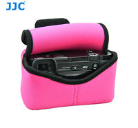 Magenta Camera Pouch Case Bag fits Sony A6500 A6400 A6300 A6000 +16-50mm Lens