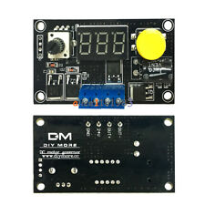 DC 6-30V 12V 24V Max 8A 16KHz PWM 3 Bit Digital LED Speed Controller for Motor