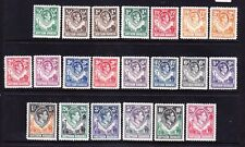 NORTHERN RHODESIA George VI 1938 SG24/45 set of 21 - unmounted mint. Cat £250
