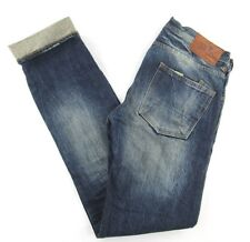 PRPS Mens Jeans Button Fly Selvedge Distressed SIZE 34