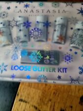 Anastasia Beverly Hills Loose Glitter Kit with Adhesive New in Box MSRP $40