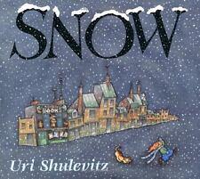 SNOW (CALDECOTT HONOR BOOK) By Uri Shulevitz - Hardcover **BRAND NEW**