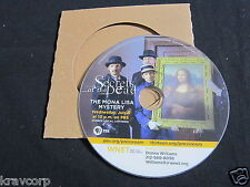 SECRETS OF THE DEAD 'THE MONA LISA MYSTERY' 2014 PROMO DVD—PBS SHOW