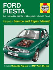 3397 Ford Fiesta 1995 to 2002 Petrol & Diesel Haynes Service and Repair Manual