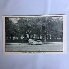 Central Park Hutchinson Minnesota Unposted Postcard