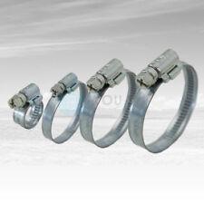100 Stück 9 mm 25-40mm Schneckengewinde Schlauchschellen Schellen Stahl Verzinkt