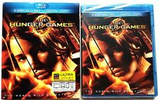 NEW THE HUNGER GAMES BLU RAY 2 DISC EDITION WITH SLIPCOVER FREE WORLD SHIPPING