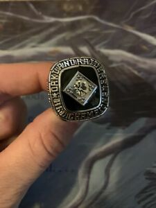 Oakland Raiders AFC Coach Championship Ring Men's
