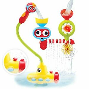 Yookidoo Bath Toy - Submarine Spray Station - Battery Operated Water Pump with