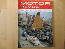 Motor Revue 1961 Heft 38, viel Motorsport