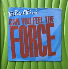 "The Real Thing - Can You Feel The Force? (86 Mix) 7P 358 7"" single *3 for 1 *"