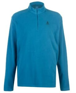 Odlo Orsino Men's Sweater Jumper Blue Long Sleeve all Sizes New with Label
