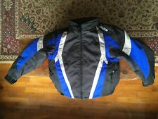 New ListingHjc Youth Large Snowmobile Jacket -Winter-Coat-Apparel-Ski ~royal blue and black