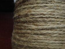 10m beige 1.5mm -  2mm hemp cord twine