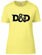 Dungeons & Dragons Inspired D&D Womens Fitted Tee T-Shirt