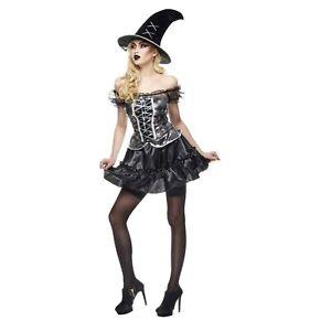COSTUME Halloween SEXY STREGHETTA Adult Donna Taglia Unica RUBIE'S WITCH New