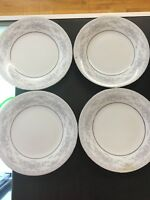 Fairfield Fine China Floral Yung Shen, Set of 4, Salad Dessert Plates E16
