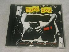 Punk You!, Vol. 1 CD by Various Artists The Damned X-Ray Specs Blondie Buzzcocks