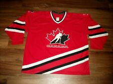 VINTAGE TEAM CANADA HOCKEY JERSEY CCM MASKA SIZE XXL (56) KNIT, GREAT CONDITION