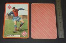 FOOTBALL CARTE PHOTO 1959-1960 PETRUS VAN RHIJN NEDERLAND STADE FRANCAIS