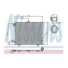 DS DS3 130 1.2 Air Con Condenser 2015 on AC Conditioning NRF 6455EK 6455HF New