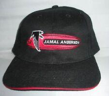 Vtg Atlanta Falcons Jamal Anderson adjustable hat 90s snapback cap rare NFL new
