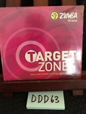 Zumba Fitness Target Zones 3 Dvd Set 6 Body Parts Workout Collection Brand New!