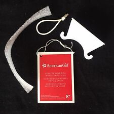 """American Girl Plastic Doll's Neck Holder + Red Wrist Tag Included With 18"""" Doll"""