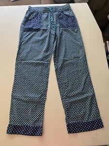 Victoria's Secret Womens Blue Pajama Pants S