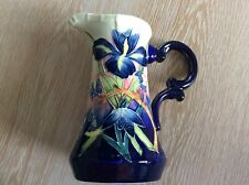 Old Tupton Ware Hand Painted Floral IRIS Jug
