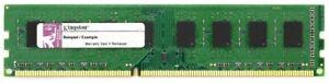 2GB Kit (2x 1GB) Kingston DDR3-1066 PC3-8500U RAM KVR1066D3N7K2/2G CL7 Memory