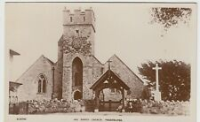 Isle of Wight; All Saints Church, Freshwater RP PPC By Smiths, Unused, c 1910's