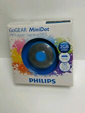 Phillips GoGear Mp3 Player Mini Dot 2 Gb Sports Running Gym