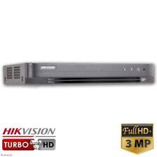 Hikvision DS-7204HQHI-K1 4 Channel Turbo HD Hybrid DVR (3MP, TVI, IP, AHD, 960H)