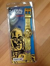 RARE 1997 STAR WARS C3 PO LCD WATCH WATCH IT BRAND NEW SEALED !