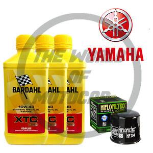 Kit/tagliando Yamaha YZF/R6/600 2006 2007 Bardahl XTC C60 10W40 filtro olio MOTO