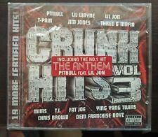 Compilation Crunk Hits Vol. 3 CD 2008 Hip Hop Still Sealed TVT Records TV-2518-2