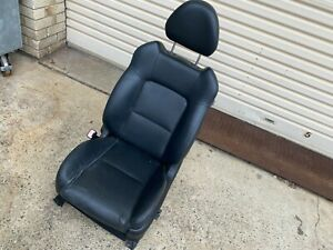 Subaru Outback Liberty Gen 4 2003 06 Leather Front Passenger Seat Electric Black